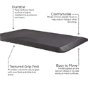 Movable Anti-Fatigue Mat - Features
