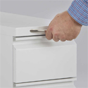 Steel Mini Pedestal - Pull-out Drawer