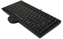 Compact Keyboard with Trackball