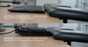 Universal Forearm Support - Keyboard Height Comparison