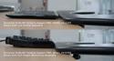 SLIMLINE Forearm Support PRO - Keyboard Height Comparison