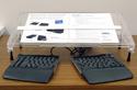 Microdesk Regular, with Split Keyboard