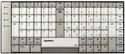 TypeMatrix USB EZ Reach Keyboard - 2030 series - QWERTY layout