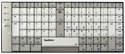 TypeMatrix USB EZ Reach Keyboard - 2030 series - DVORAK layout